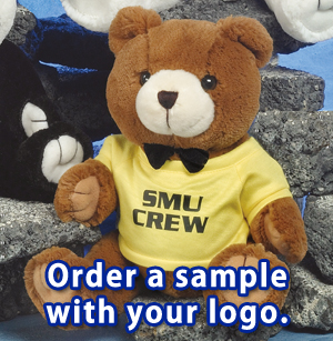 "The Good Buy Bunch Bears are available in 8"", 10"", 12"" and 18"" sizes."